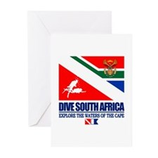 Dive South Africa Greeting Cards