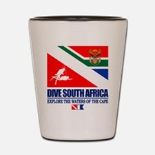 Dive South Africa Shot Glass