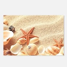Seashells Postcards (Package of 8)