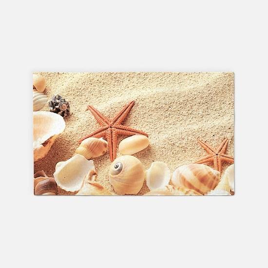 seashell rugs, seashell area rugs | indoor/outdoor rugs