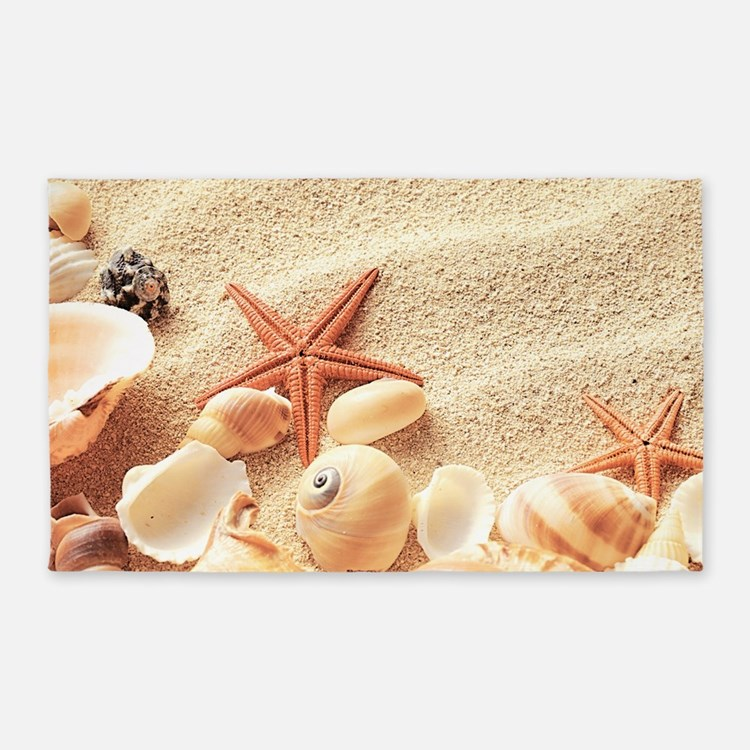 Seashells 3'x5' Area Rug