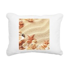 Seashells Rectangular Canvas Pillow