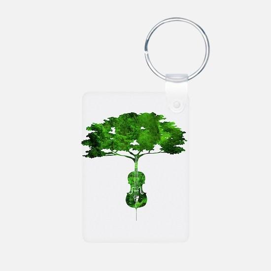 Cello tree-2 Keychains