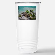 Mexico Iguana Travel Mug