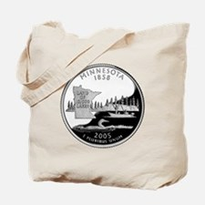 Minnesota Quarter Tote Bag