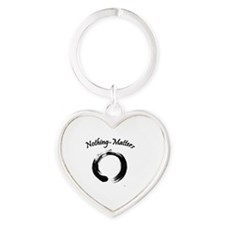 Nothing-Matters Heart Keychain