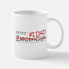 Job Dad Electrician Mug