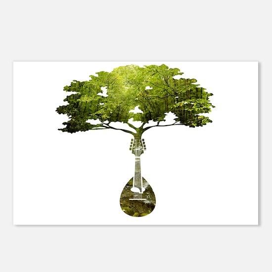 Mandolin Tree Postcards (Package of 8)