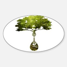 Mandolin Tree Decal