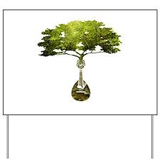 Mandolin Tree Yard Sign