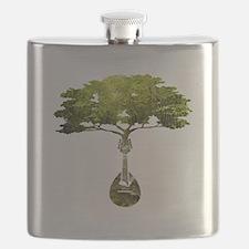 Mandolin Tree Flask