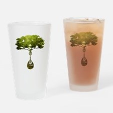 Mandolin Tree Drinking Glass