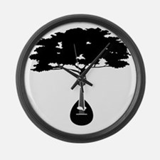 Mandolin-2 Large Wall Clock