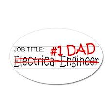 Job Dad Elect Eng Wall Decal