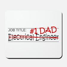 Job Dad Elect Eng Mousepad