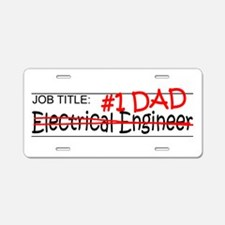 Job Dad Elect Eng Aluminum License Plate