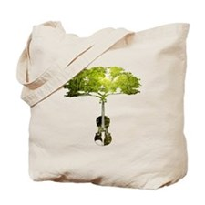 Violin tree Tote Bag