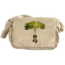 Violin tree Messenger Bag