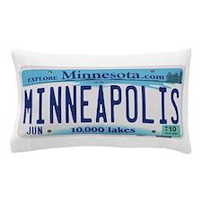 Minneapolis License Pillow Case
