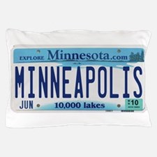 Minneapolis License Pillow Case
