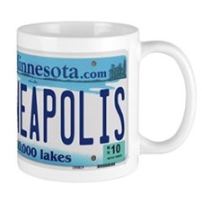 Minneapolis License Mug