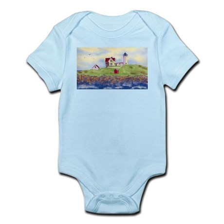 Nubble Lighthouse Infant Bodysuit