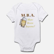 MBA Beers Infant Bodysuit