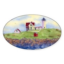Nubble Lighthouse Decal