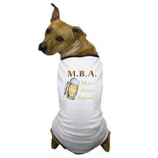 MBA Beers Dog T-Shirt