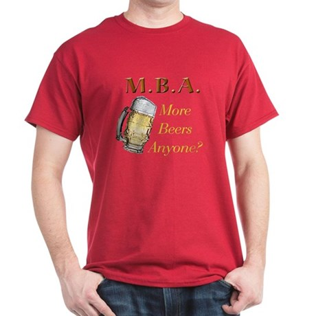 MBA Beers Dark T-Shirt