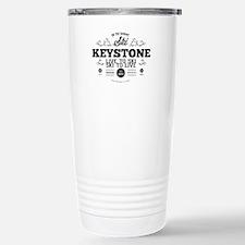 Keystone Old Ivy Black Travel Mug