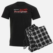 Job Dad Firefighter Pajamas