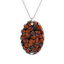 Countless Monarch Butterflies Necklace