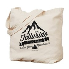 Telluride Mountain Vintage Tote Bag