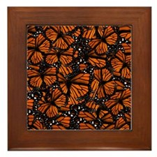 Countless Monarch Butterflies Framed Tile
