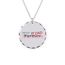 Job Dad Farmer Necklace