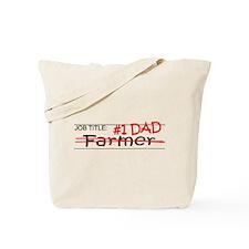 Job Dad Farmer Tote Bag