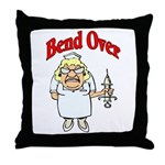 Favorite Nurse Design Throw Pillow