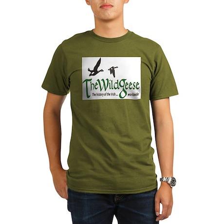 Wg Logo Organic Men's T-Shirt (dark)