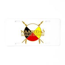 Navajo Nation Aluminum License Plate