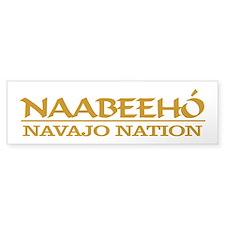 Navajo Nation Bumper Bumper Sticker