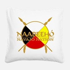 Navajo Nation Square Canvas Pillow