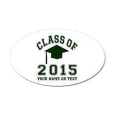 Class Of 2015 Graduation Wall Decal