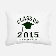 Class Of 2015 Graduation Rectangular Canvas Pillow
