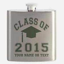 Class Of 2015 Graduation Flask