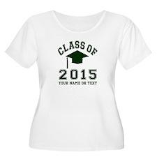 Class Of 2015 Graduation Plus Size T-Shirt