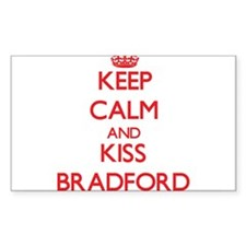 Keep Calm and Kiss Bradford Decal