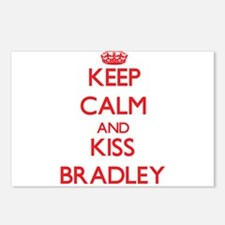 Keep Calm and Kiss Bradley Postcards (Package of 8