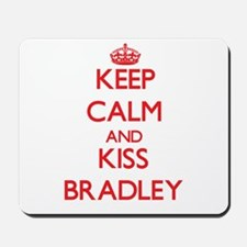 Keep Calm and Kiss Bradley Mousepad