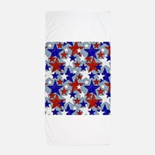 American Star Beach Towel